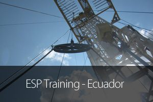 Artificial Lift Performance esp training ecuador